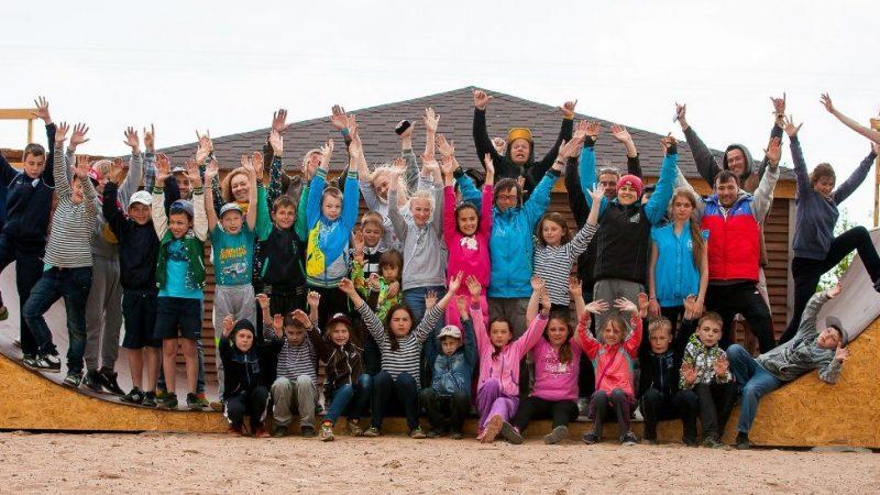 Ежегодный благотворительный проект АО «Третий парк» —  «Хочу дарить детям солнце»